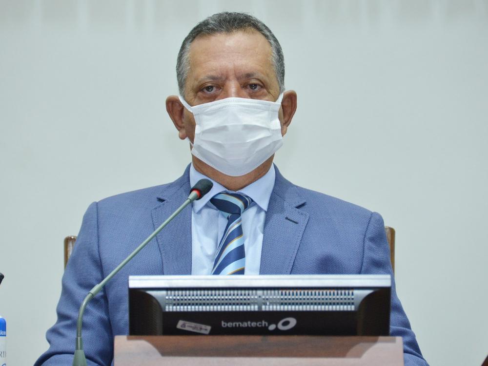 Deputado Antônio Andrade, presidente da AL/TO (Foto: Clayton Cristus)