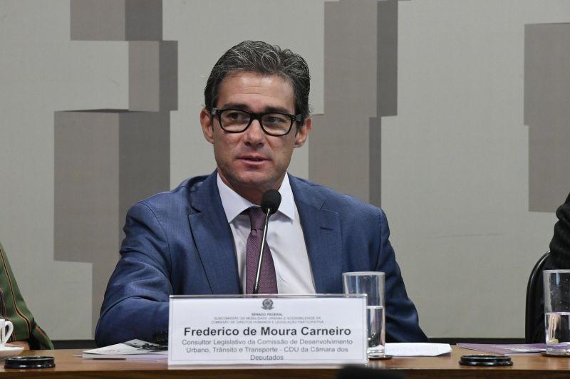 Frederico de Moura Carneiro estará na Live JR - (Foto: Edilson Rodrigues/Agência Senado - 06.12.2019)