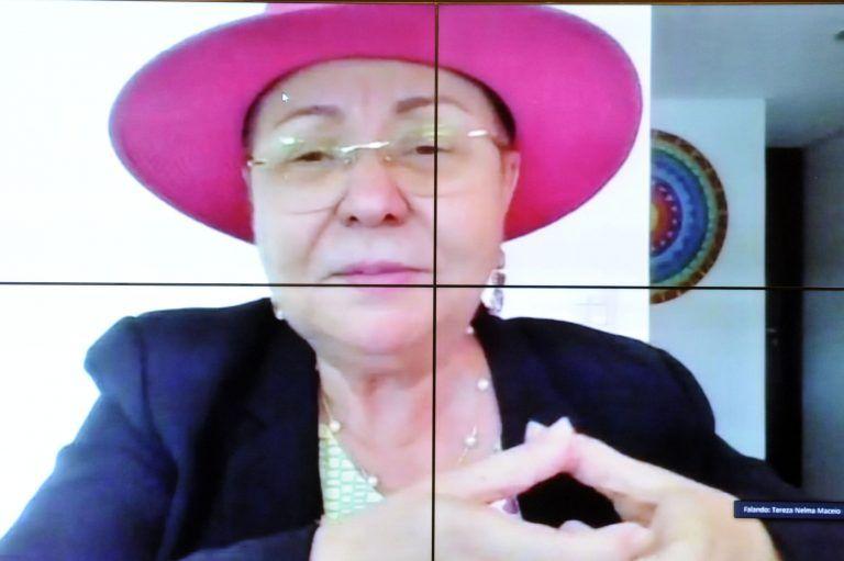 Tereza Nelma quer propor uma política com a definição dos serviços e da atuação das ILPIs - (Foto: Gustavo Sales/Câmara dos Deputados)