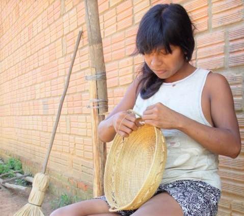 Preservação do artesanato Xerente também é tema de projeto aprovado (Foto: Tharson Lopes)