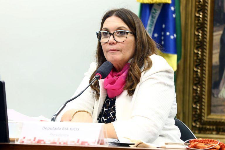 Bia Kicis defendeu possibilidade de abrir diálogo sobre a reforma na CCJ - (Foto: Cleia Viana/Câmara dos Deputados)