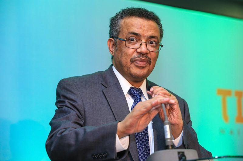 O diretor-geral da Organização Mundial da Saúde (OMS), Tedros Adhanom, é um dos convidados da audiência pública que vai debater as tratativas de aquisição de vacinas pela Covax Facility - Denis Mukundi / World Bank
