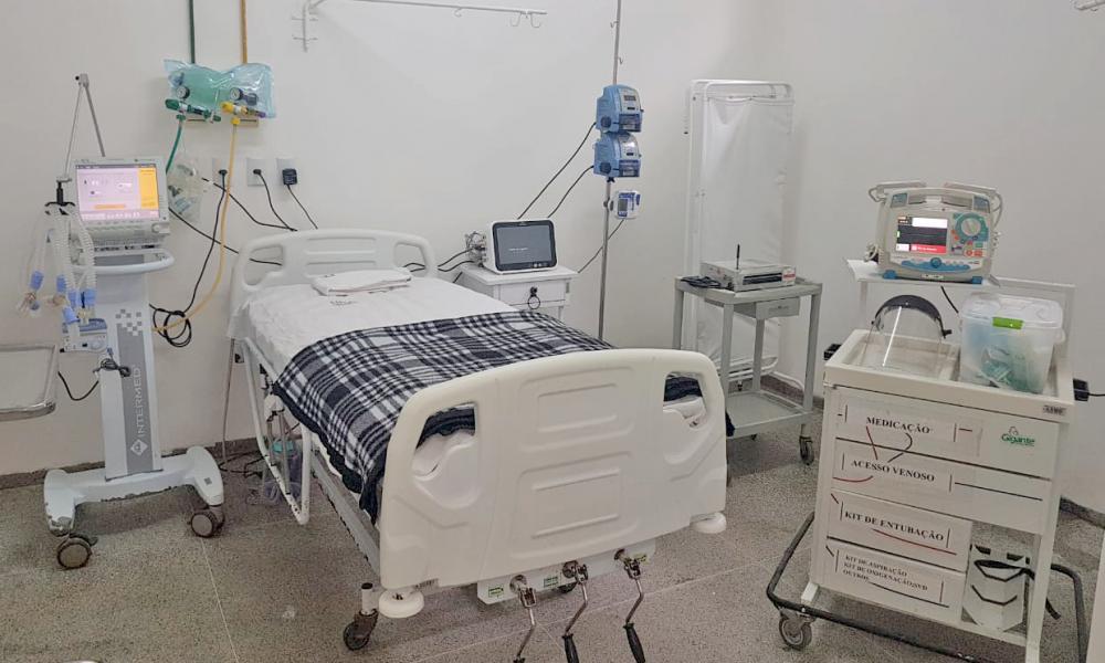 Governo do Tocantins chega a 325 leitos hospitalares instalados exclusivamente para tratamento da Covid-19