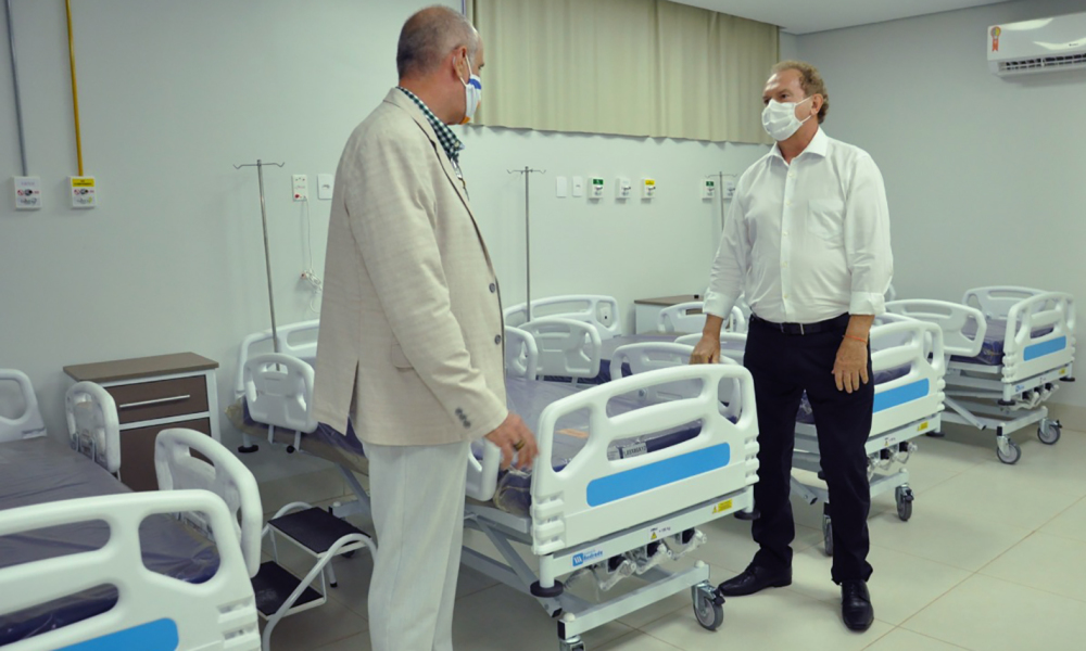 Governador Mauro Carlesse destaca que os números mostram o esforço da Gestão Estadual para enfrentar da melhor forma possível a pandemia do novo Coronavírus (Foto: Esequias Araújo)