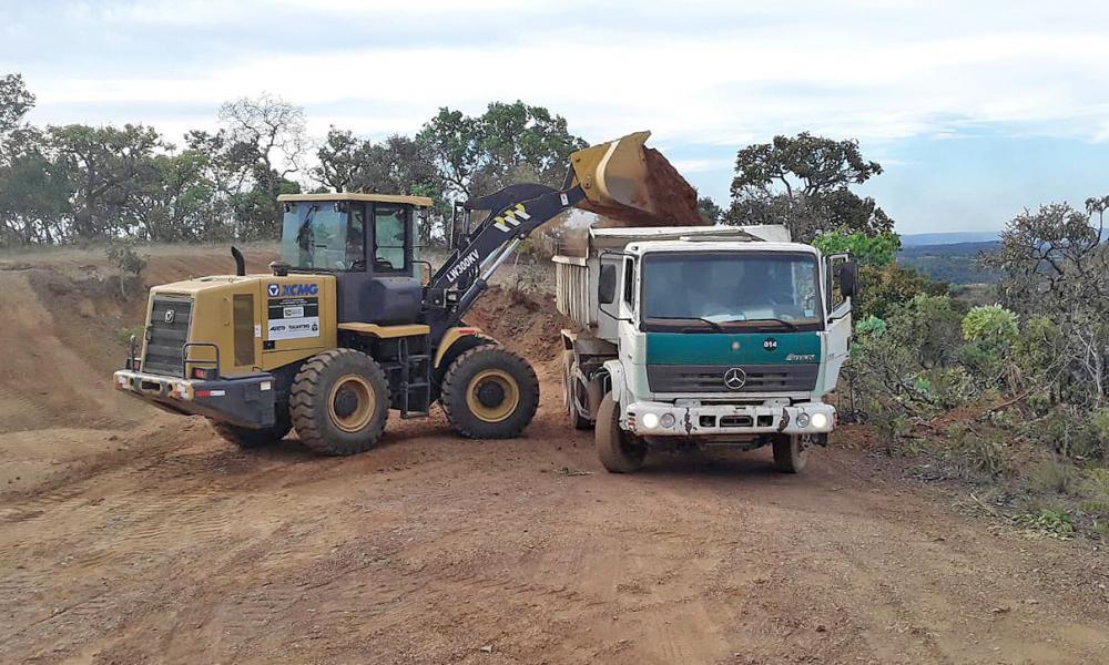 Em Lajeado, o maquinário entregue é importante para viabilizar a logística do escoamento da produção da zona rural (Foto: Divulgação)