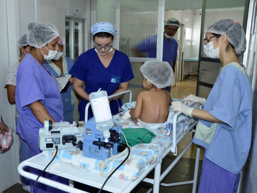 Tocantins já realizou 56 cirurgias cardíacas pediátricas (Foto: Nielcem Fernandes)