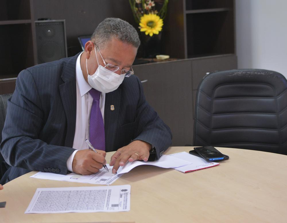 Tom Lyra ressaltou o empenho do Governador na resolução do impasse (Foto: Flavio Cavalera)