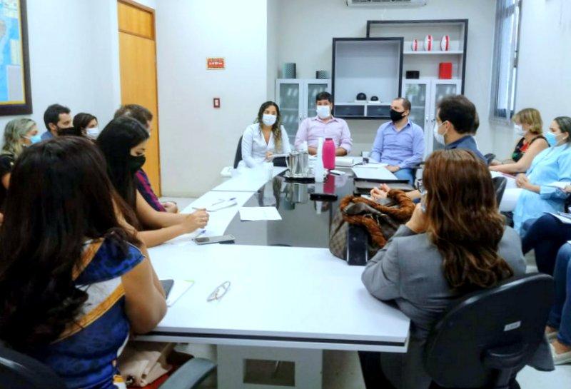 A reunião buscou discutir a reorganização de fluxo de pacientes que dão entrada no HGP (Foto: Divulgação)