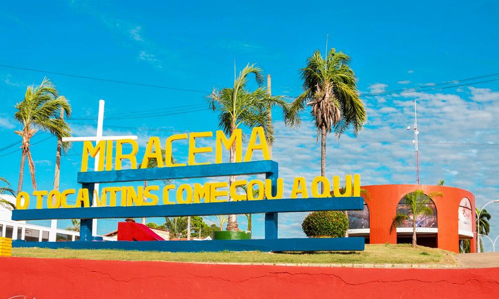 Miracema serviu como sede do governo no início da criação do Tocantins, durante a construção de Palmas (Foto: Rony Rocha)
