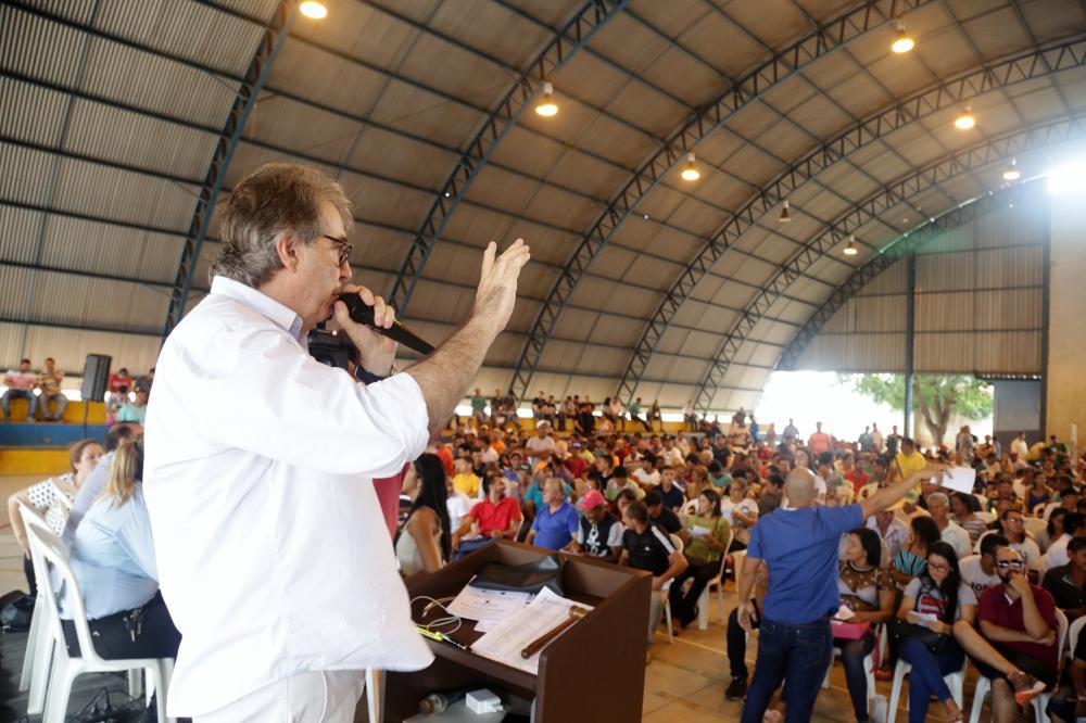 O evento será realizado às 9 horas, no Ginásio Poliesportivo do Bairro São João (Foto: Marcos Sandes)