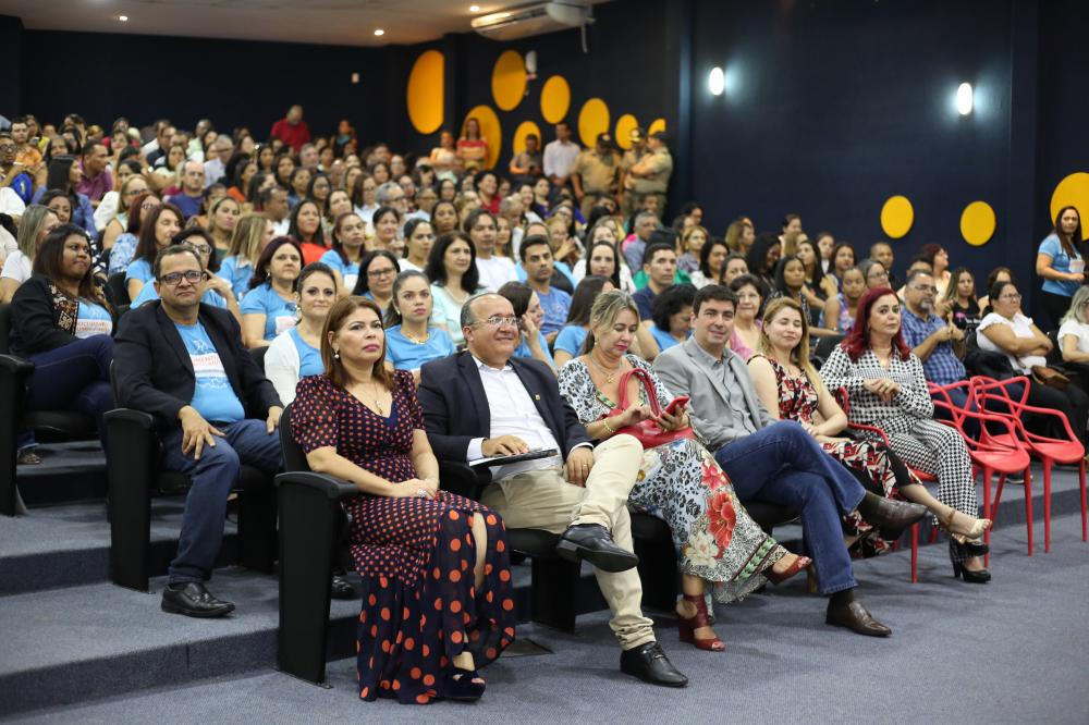 Em 2019, a Seduc reuniu, em Palmas, 500 educadores, entre diretores das 449 escolas estaduais e técnicos da Pasta (Foto: Elias Oliveira)