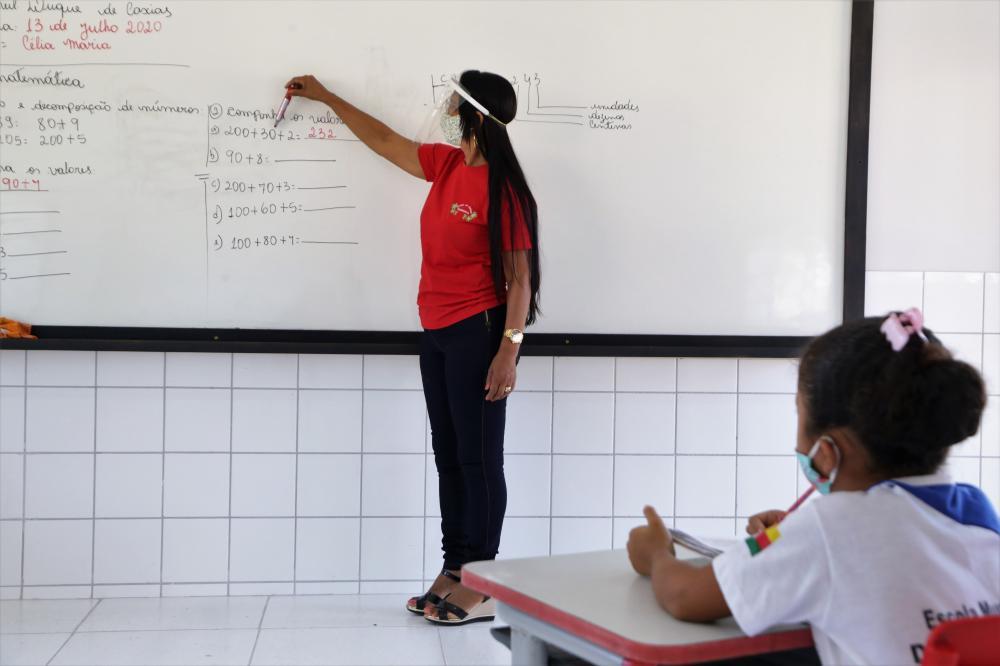 Araguaína foi um dos poucos municípios do País a alcançar a totalidade de horas aula estabelecidas pelo MEC em 2020 (Foto;:Marcos Sandes)
