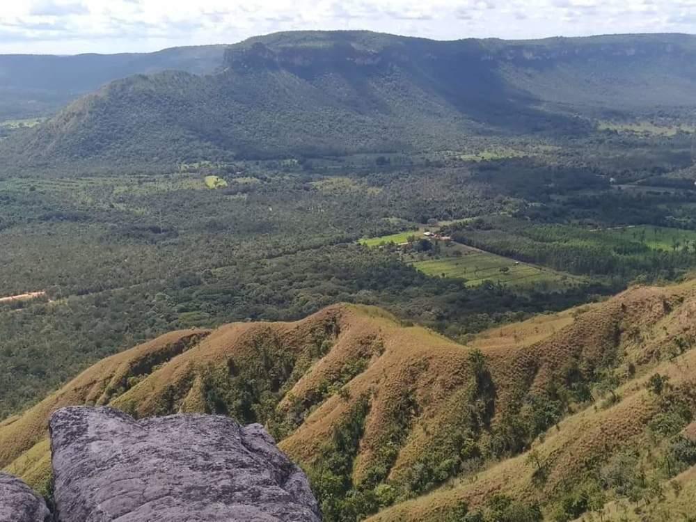 Serra do Lajeado (Foto: Camilla Oliveira Muniz)