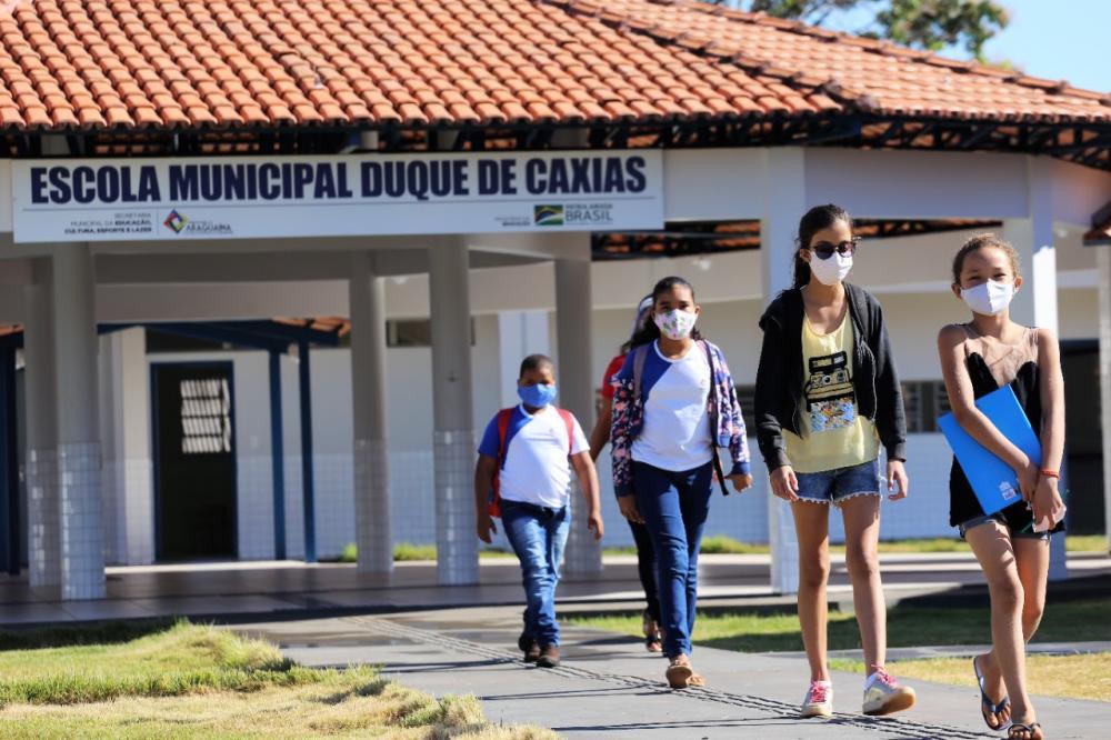Para este ano, a previsão é de mais de 22 mil alunos matriculados, sendo mais de 600 na zona rural (Foto: Marcos Sandes)