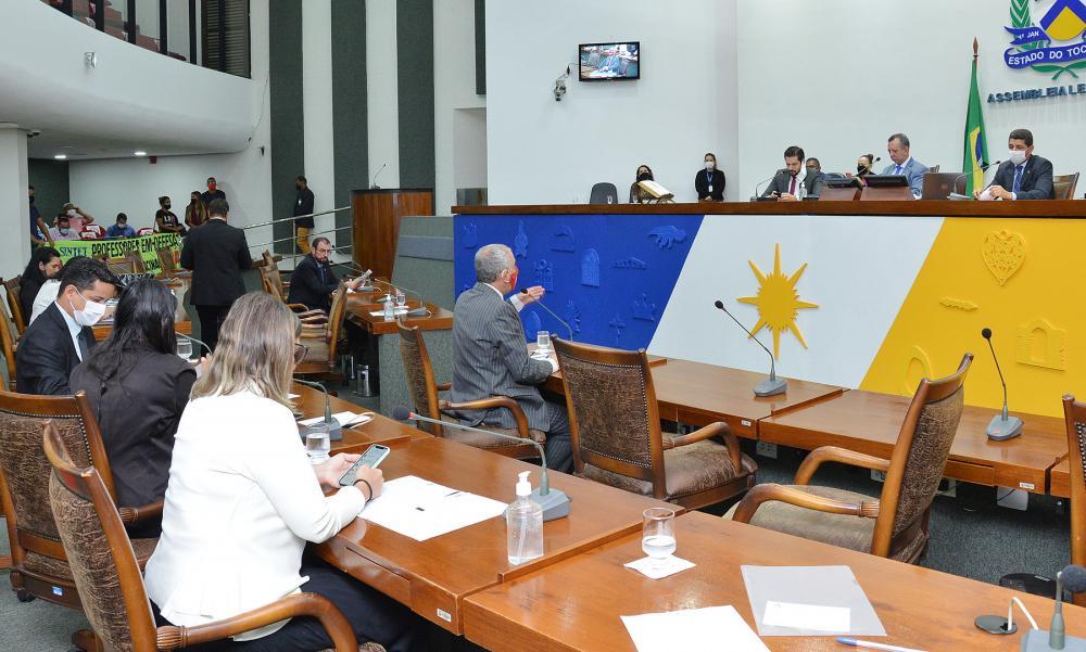 Plenário (Foto: Clayton Cristus)