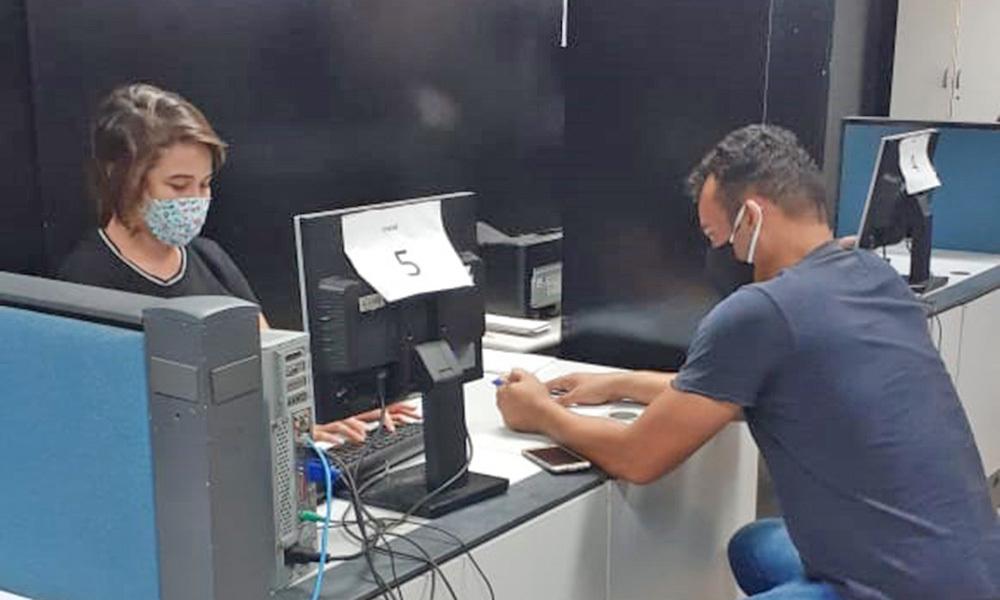 A partir de segunda-feira, 1º, Instituto de Identificação passa a atender exclusivamente público agendado (Foto: SSP/TO)