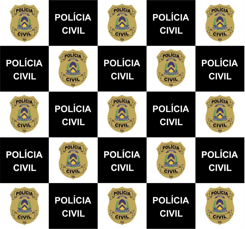 Backdrop da Polícia Civil